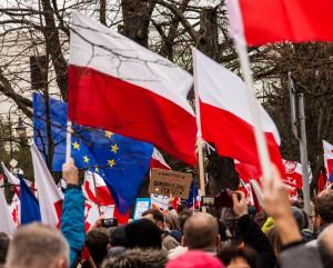 Kaczynski är polsk demokratis fiende.