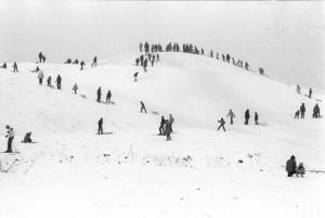 Kopa Cwila in winter probably in the 1980s. Photo: zdyrma